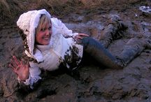 Fetish Mud in Down Jacket