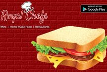 Chefs Are You Ready With Your Menu? / 'Royal Chefs' is an app, which will act as 'Medium' between Chefs and Foodies. Enjoy your food everyday with 'Royal Chefs'.