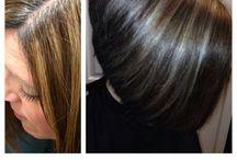 Silver highlights  -Hair