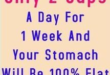 flat stomach for 2wks