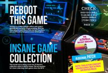 RETRO Magazine / RETRO is a new video gaming magazine celebrating the past, present and future of the video gaming pastime.  RETRO has enlisted the best gaming journalists from the past three decades to contribute content.