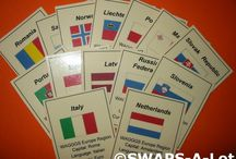 Girl Scouts - Thinking Day Swaps / Country-specific SWAP ideas for Girl Scouts. Great ideas for World Thinking Day, celebrated around the world on February 22 annually.