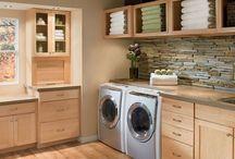 Laundry and mini kitchen renovation