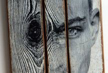 Art on wood