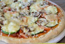 6 Pizza & Quiche