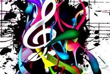 Muzic....Mania....!!! / Music , Electronic, Digital , Strings, Discs, Crowd with fun...!!