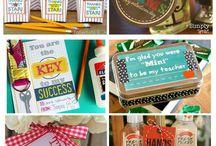 Dia dos professores IDEIAS / Ideias de presentes, artesanato e DIY para presentear os professores