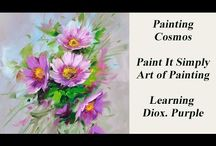Cosmos / How to paint