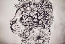 Tatouages de chat