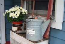 Porch Decor / by ~Emily Ream~