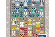 Fancy Forest Quilt Along / All the tools and tips to make your own Fancy Forest quilt, designed by Elizabeth Hartman.  A complementary board for the students in our Fancy Forest classes taught by Teresa Coates.