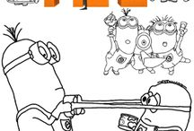For the Kiddies - Coloring Pages
