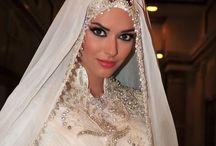 Muslim wedding headgear