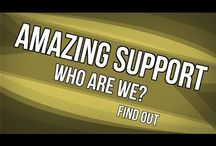 Amazing Support: Who Are We?