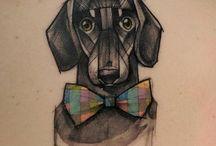 Tatuagens de cão