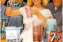 Retro Ads | Soft Drinks / Vintage soft drink adverts. Click main image to see whole ad campaign on Retro Musings.