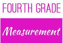 Fourth Grade: Measurement / This board contains resources for Texas TEKS:  4.8A, 4.8B, 4.8C