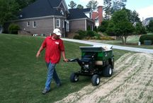 Top Dressing / If you want to have greener, healthier looking lawns then we recommend our top-dressing services. This involves a process of scalping and sanding your lawns at the right times of the year for optimal results.