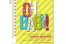 Shower-ing / baby shower ideas / by Carolyn Helfrich Johnson