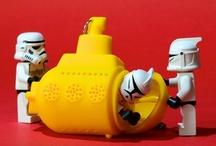 brincadeira geek / Legos e playmobils são puro amor! <3