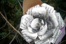 Book Bouquets by Fuchsia Kitten / Hand Crafted Book roses. the Perfect gift for the book lover. I also take custom orders for events and weddings.   www.Etsy.com.au/shop/fuchsiakitten