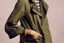 Vihreä takki