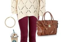 Style: Red leggings