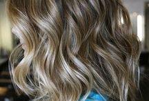 frisyr, färg
