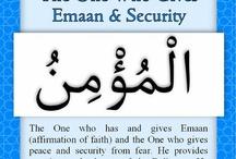 Name of Allah subhana WA ta'ala