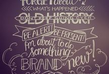 Hand lettering / by Shy Vires