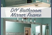 diy framing mirrors