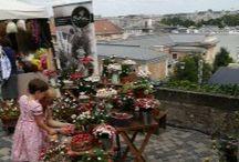 Kézműves vásárok - kerámiavirág