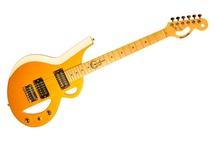 Borealis Guitars / Custom Guitars with Borealis pickups.   Guitars feature Colored string by Aurora.