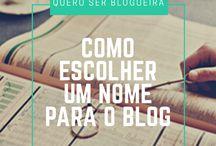 Blogging / Dicas de como criar e profissionalizar seu blog.