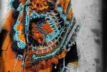 ponchos & scarf