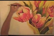 watercolor videos / by Lis Johnson