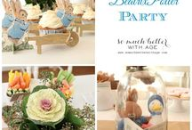 Beatrix Potter Parties / Party ideas with Beatrix Potter themes! / by Genie Quincy