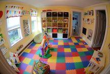 salle de jeux dans maison