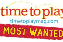 Spring 2012 Most Wanted Toys List  / Time to Play's Spring 2012 Most Wanted Toys List represents the toys our editorial team thinks will be the most popular most fun — and Most Wanted this summer. Over the past year, we've looked at and reviewed literally thousands of toys, and the ones you see here are the best of the best — the ones everyone will be talking about in the following weeks. / by TTPM