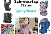 Babywearing Resources / Babywearing resources, terms, infographics.