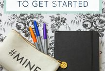 Bullet Journaling / Bullet journal ideas and inspiration