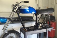 Triumph Classic Motorcycles Project / Triumph works in progress