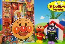 アンパンマン アニメ❤おもちゃ 花火で楽しく遊ぼう!Anpanman toys