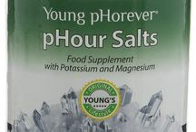 pHour Salts for Alkalizing