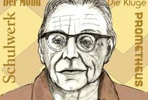 Orff / Carl Orff (1895 - 1982) German composer,  best known for O Fortuna from his cantata Carmina Burana. Besides composing he had a strong interest in music education and developed the 'Orff Schulwerk' or 'Orff Approach' of teaching music to children, a method which is used in many countries.