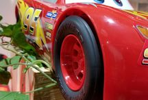 lightning mcqueen decorations , indoor place