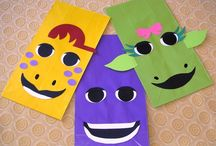Barney Party Ideas / by Sassy Sisters