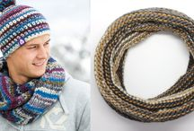 Scarves & Snoods / When you are looking for inspiration and free patterns of scarves and snoods, this is the place to be!