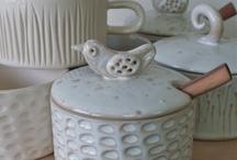 Keramikk - krukke med lok