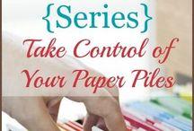 Paper/bills organization
